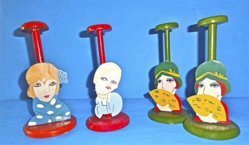 Hat stands made in Japan