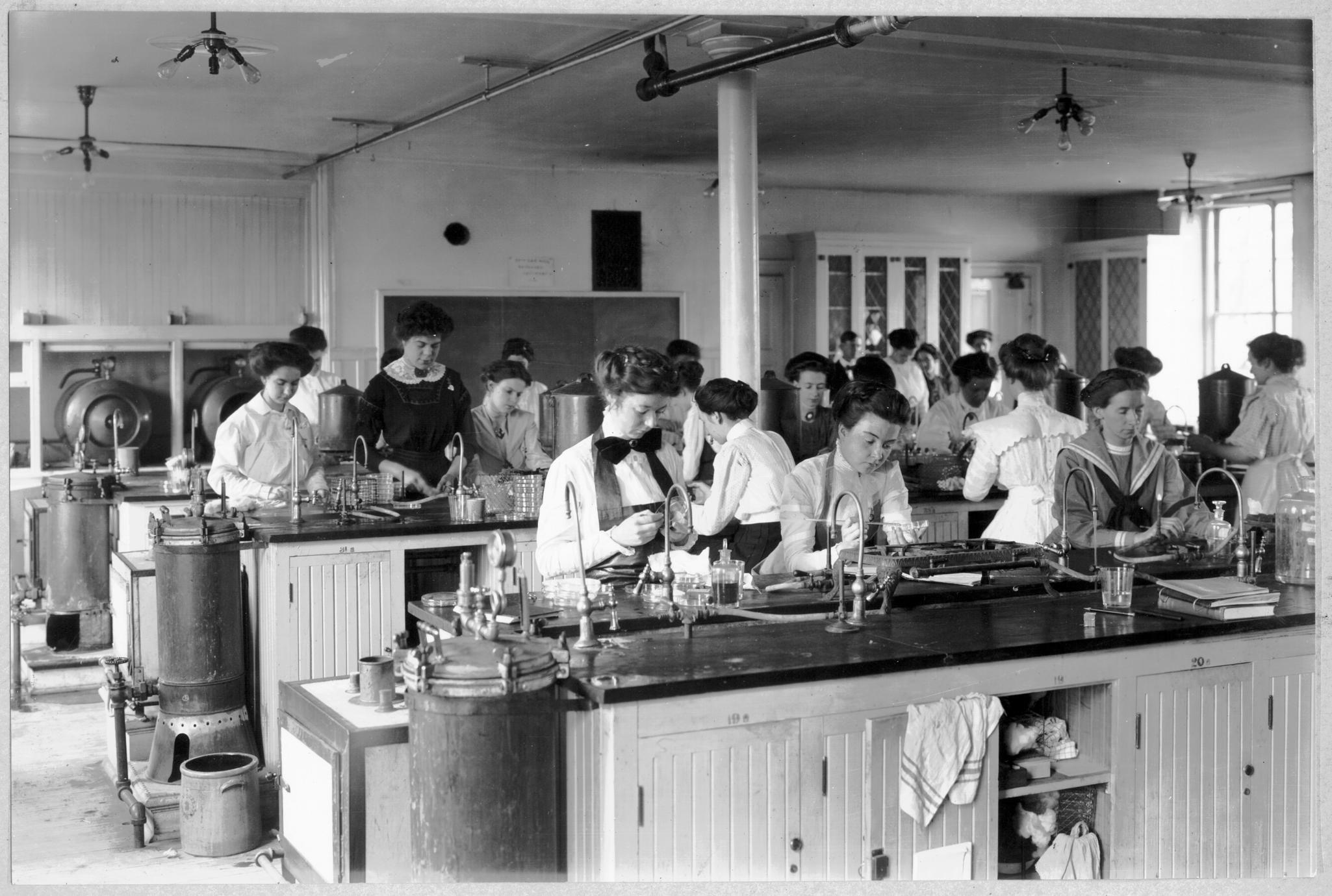Bacteriology lab