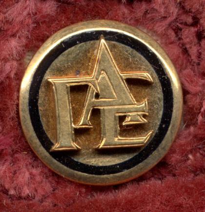 Gamma Alpha Epsilon sorority pin