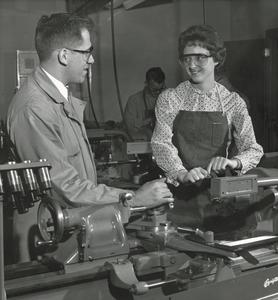Female student in School of Industrial Technology