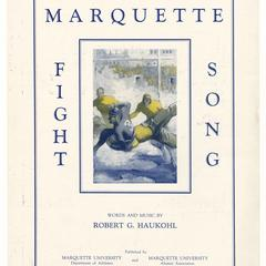 Marquette fight song