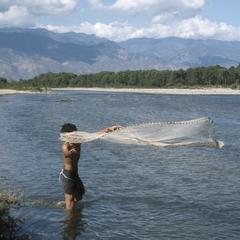 Minnow netting, Río Grande de Zacapa
