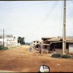 Road through Ilesa