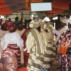 Women at the Makinwa funeral