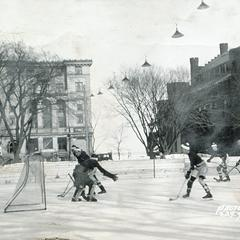 UW hockey team