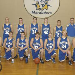 Men's basketball team, University of Wisconsin--Marshfield/Wood County, 2010