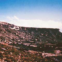 The West Scarp of the Thaba Busiu Plateau