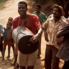 Drummer and Singers in Road
