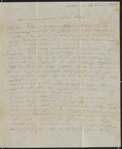 [Letter from Kajetan Sternberger to his brother, Jakob, January 28, 1854]