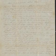 [Letter from Kajetan Sternberger to his brother, Jakob, January 28, 1854]
