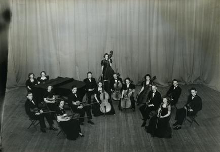 Stout Orchestra group photograph