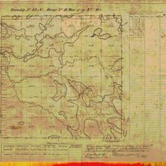 [Public Land Survey System map: Wisconsin Township 42 North, Range 11 West]
