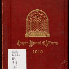 Chapter manual