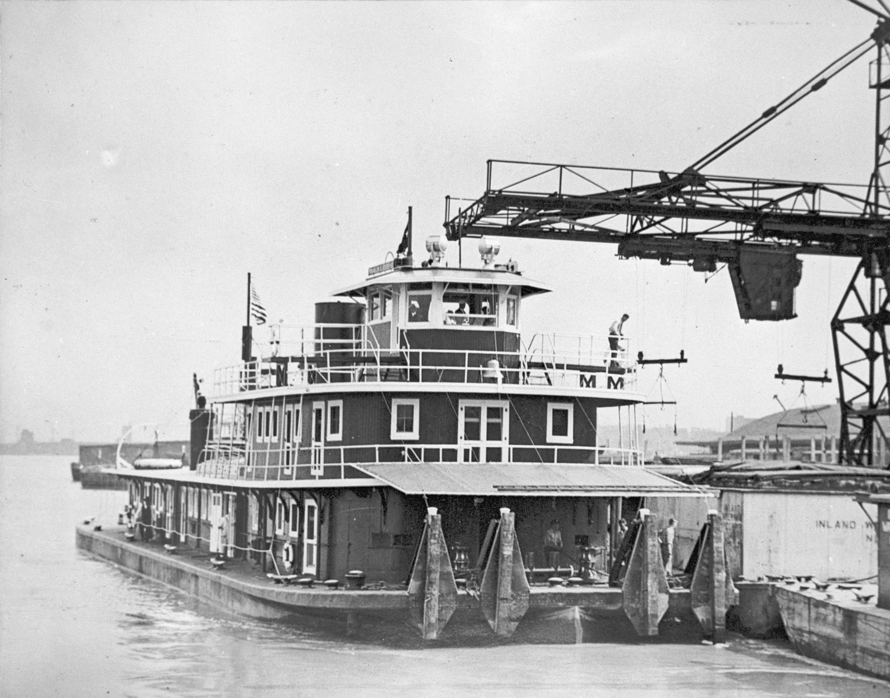Franklin D. Roosevelt (Towboat, 1933-?)