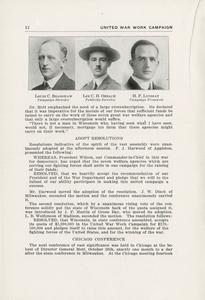 Page 14 - United War Work Campaign as conducted in Wisconsin