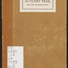 The autumn trail
