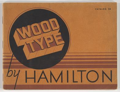 Wood type by Hamilton : Catalog 38