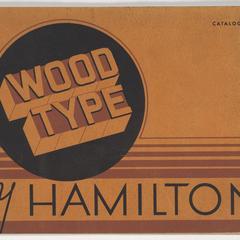 Wood type by Hamilton : Catalog 38