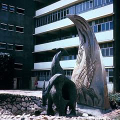 Sculpture at University of Nairobi