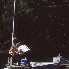 Water sampling North Temperate Lakes Long Term Ecological Research (LTER) (2)