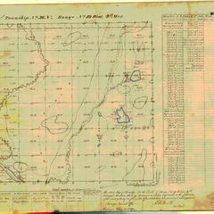 [Public Land Survey System map: Wisconsin Township 36 North, Range 19 West]