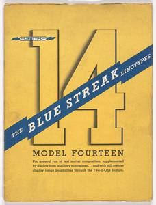 The Blue Streak Linotypes : model fourteen