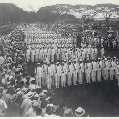 School parade, Manila, ca. 1920-1930