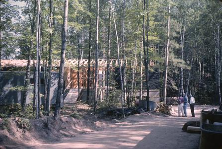 Construction of Main Laboratory at Trout Lake Station (2)