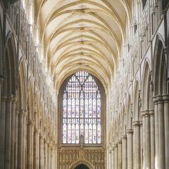 Beverley Minster nave looking west