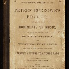 Burrowes' piano-forte primer : containing the rudiments of music : calculated either for private tuition, or teaching in classes
