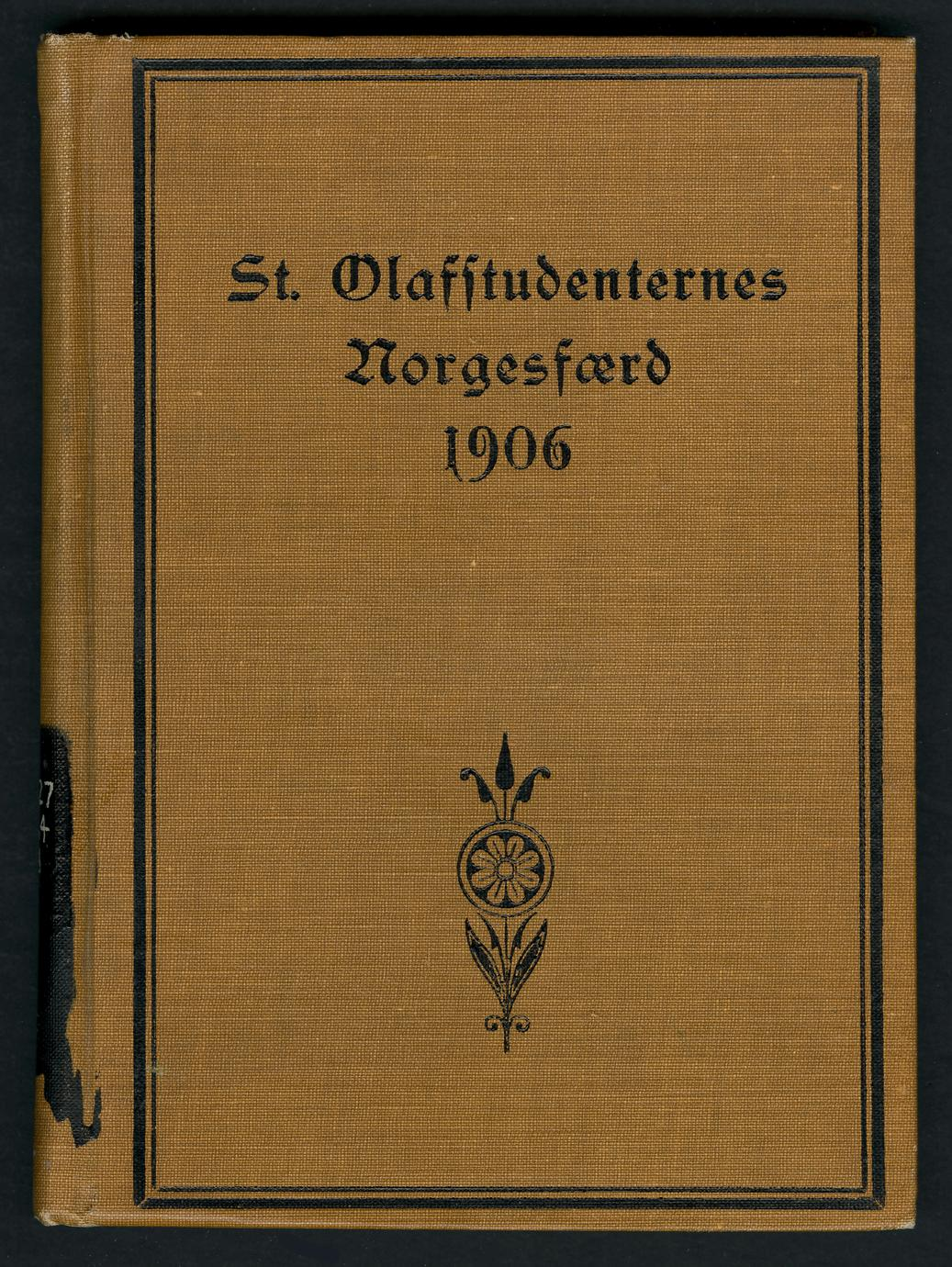 St. Olafstudenternes Norgesfærd 1906 (1 of 2)