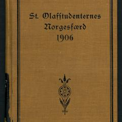 St. Olafstudenternes Norgesfærd 1906