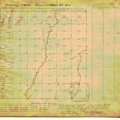 [Public Land Survey System map: Wisconsin Township 21 North, Range 04 East]