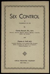 Sex control, or, Philosophy of life. Book III : Growth of a new life