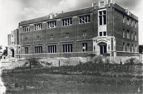 Wittich Hall under construction