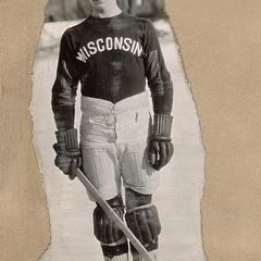 UW hockey team member, L. Emmort