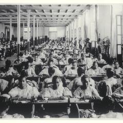 Women making cigars at the Compania Generalde Tobacos de Filipinas, Manila, 1920-1930