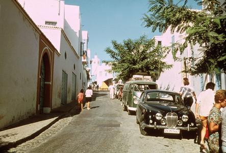 Street Scene in Sidi-Bou-Said