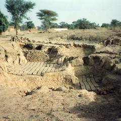 Mud Bricks Stacked and Drying