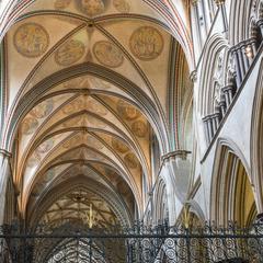 Salisbury Cathedral presbytery