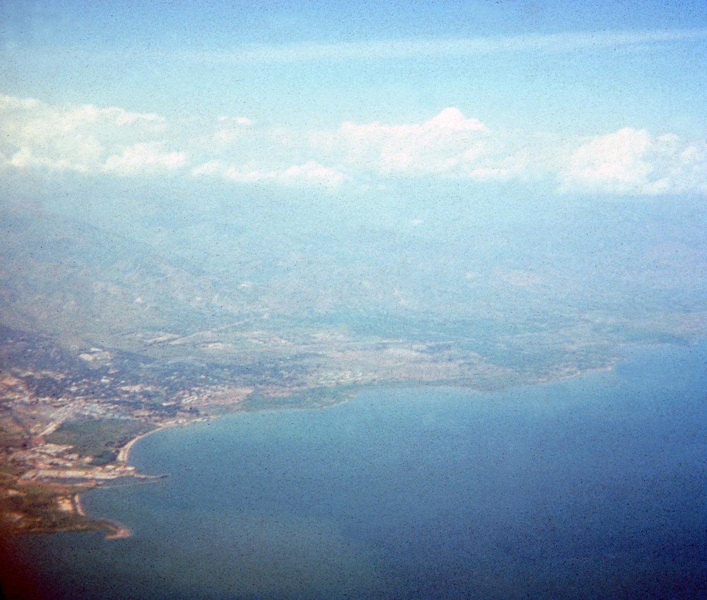 Aerial View of  the Capital, Bujumbura, on Lake Tanganyika