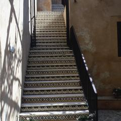 Tiled Staircase in the Serai al-Hamra