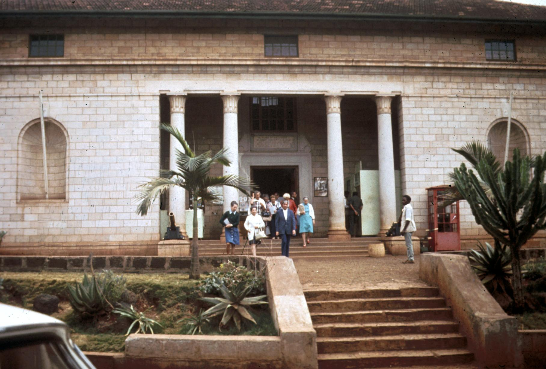 Exterior of Leakey Museum in Nairobi