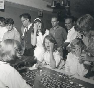 Casino game at Memorial Union
