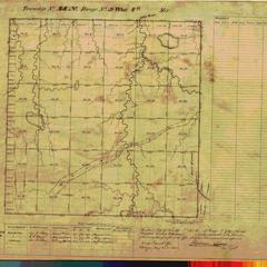 [Public Land Survey System map: Wisconsin Township 48 North, Range 09 West]
