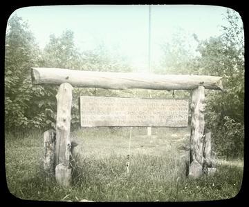 Rib Mountain sign - Wausau, Wisconsin
