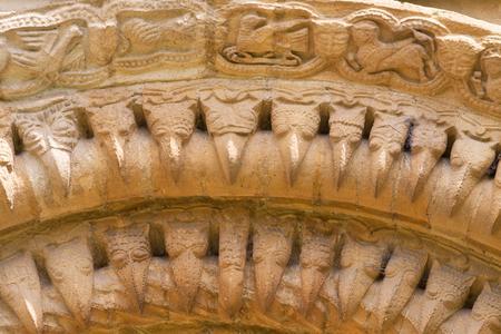 Iffley St Mary Church, west door