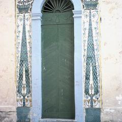 Anatolian Tiling Surrounding Side Entrance to School for Crafts
