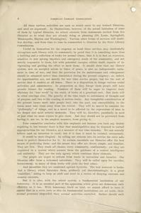 Page 6 - Our libraries and the war : report of preliminary committee to the American Library Association, at its annual meeting at Louisville, June 22, 1917
