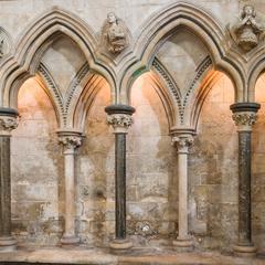 Lincoln Cathedral north choir aisle arcade